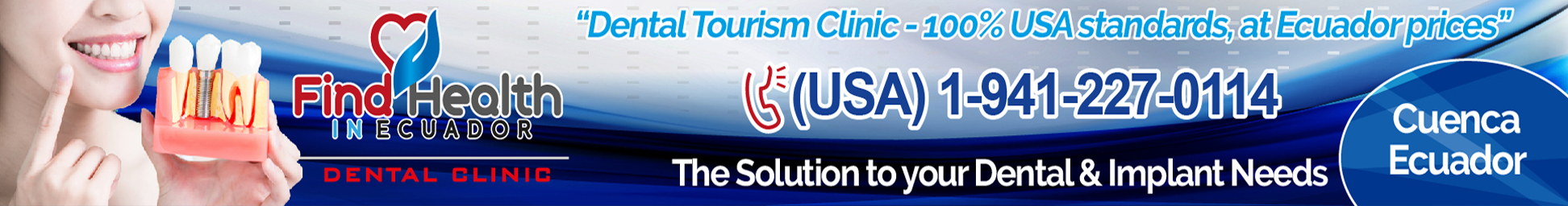 FHIE rectangular banner - FHIE Dental Tourism Banner - FHIE banner for Dental Tourism